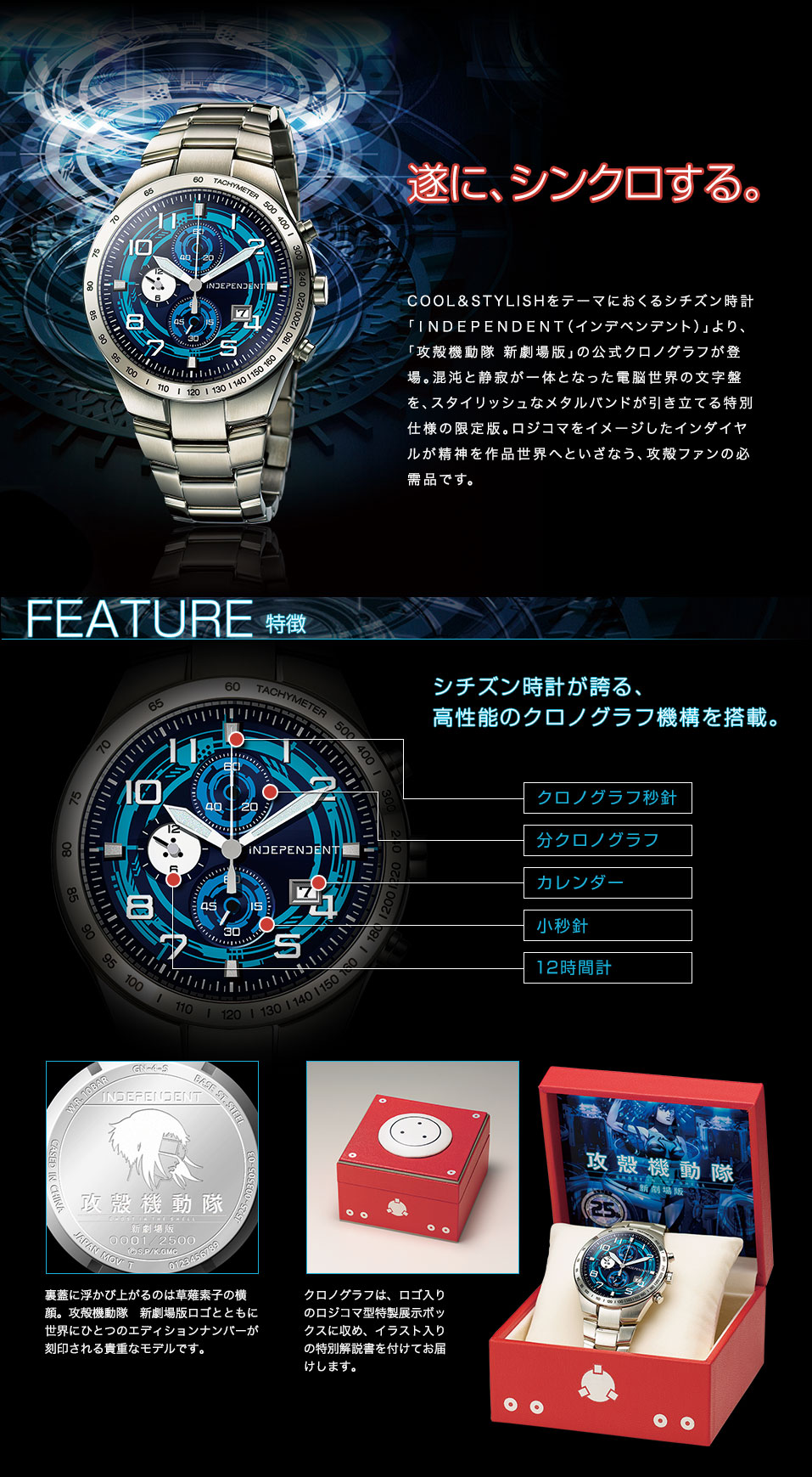 Ghost In The Shell Watch By Independent F Stands For